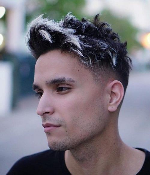 Cortes de cabello: Puntas Teñidas