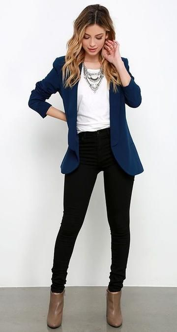 outfit mujer blazer