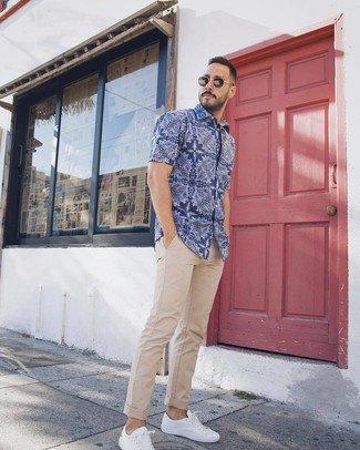 Pantalón Caqui y camisa