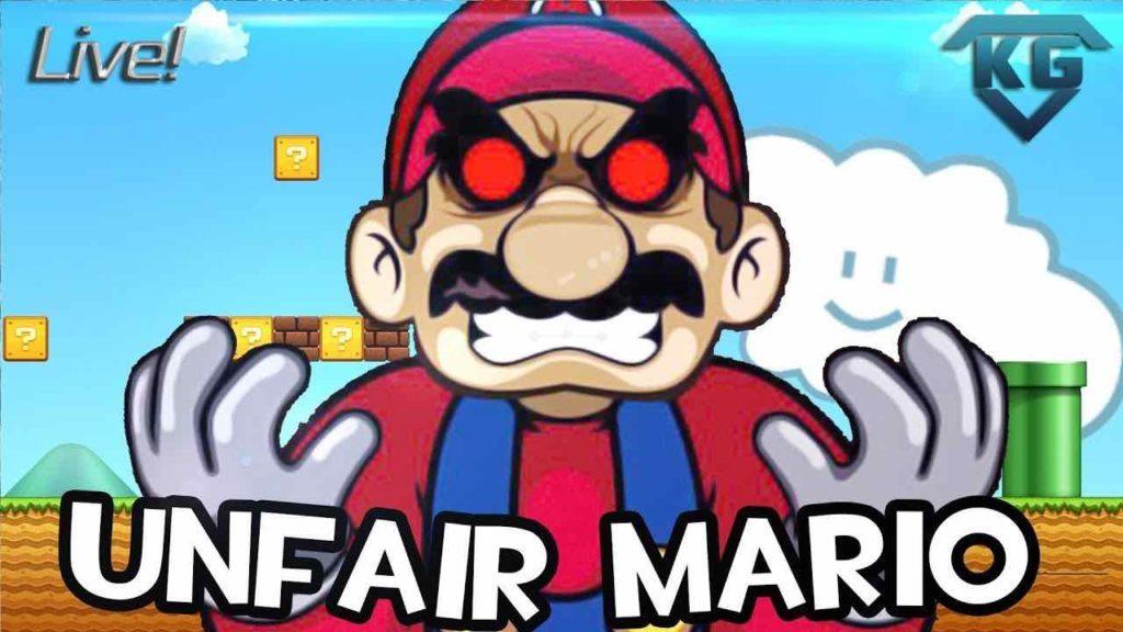 juegos imposibles - Unfair Mario