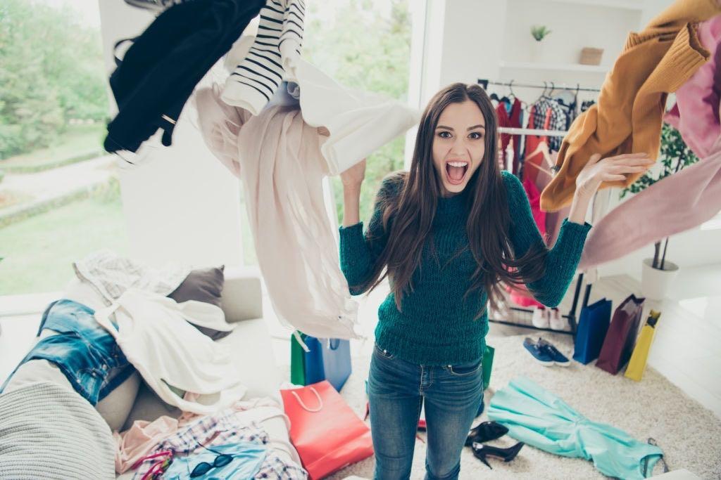 cómo limpiar tu closet Cómo verse bien
