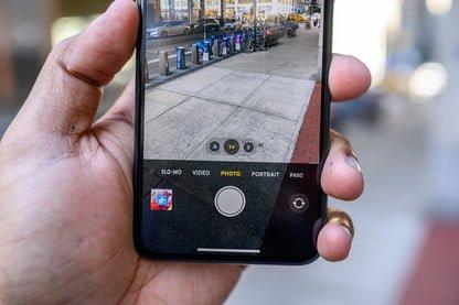 cámaras de celular para autorretrato