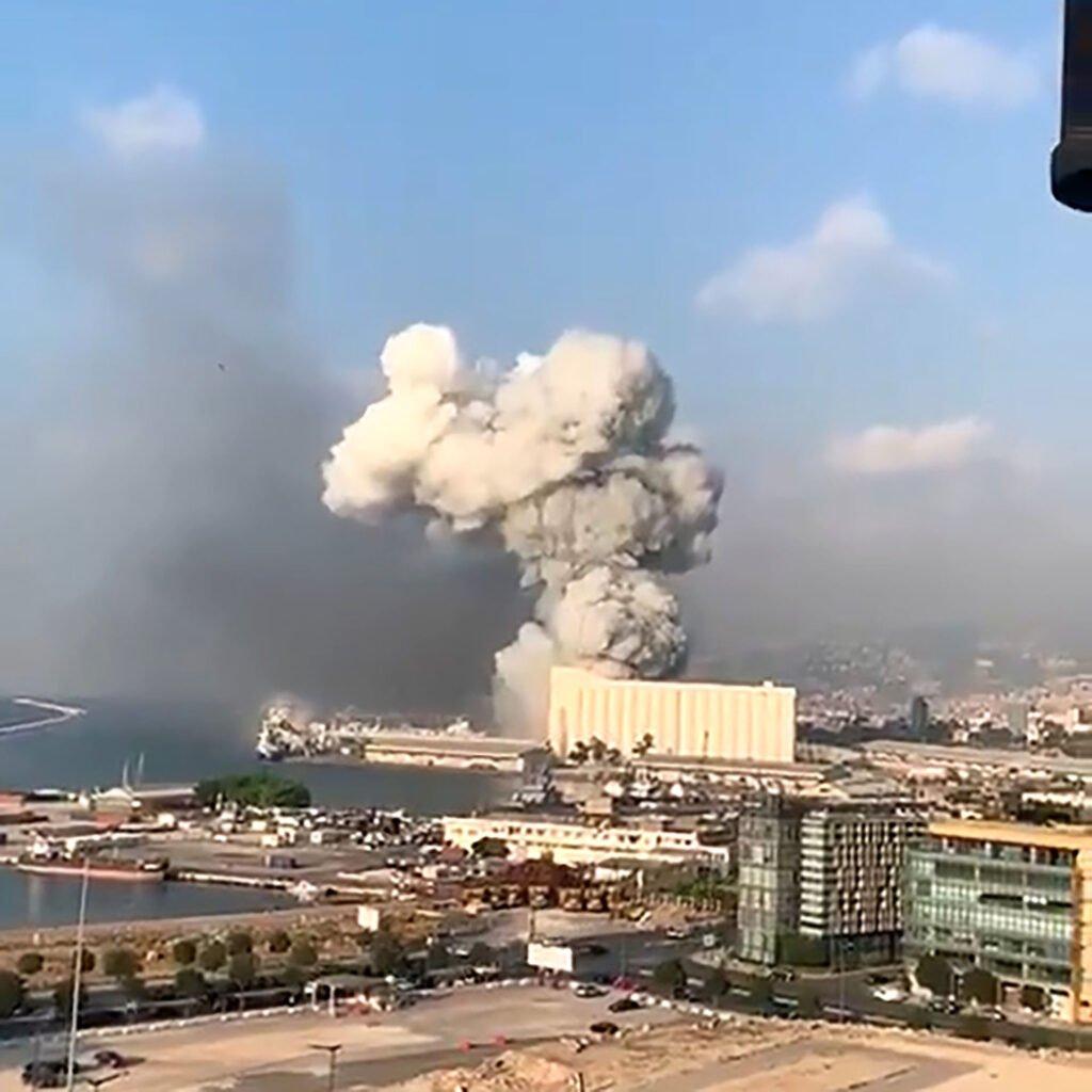 explosion libano