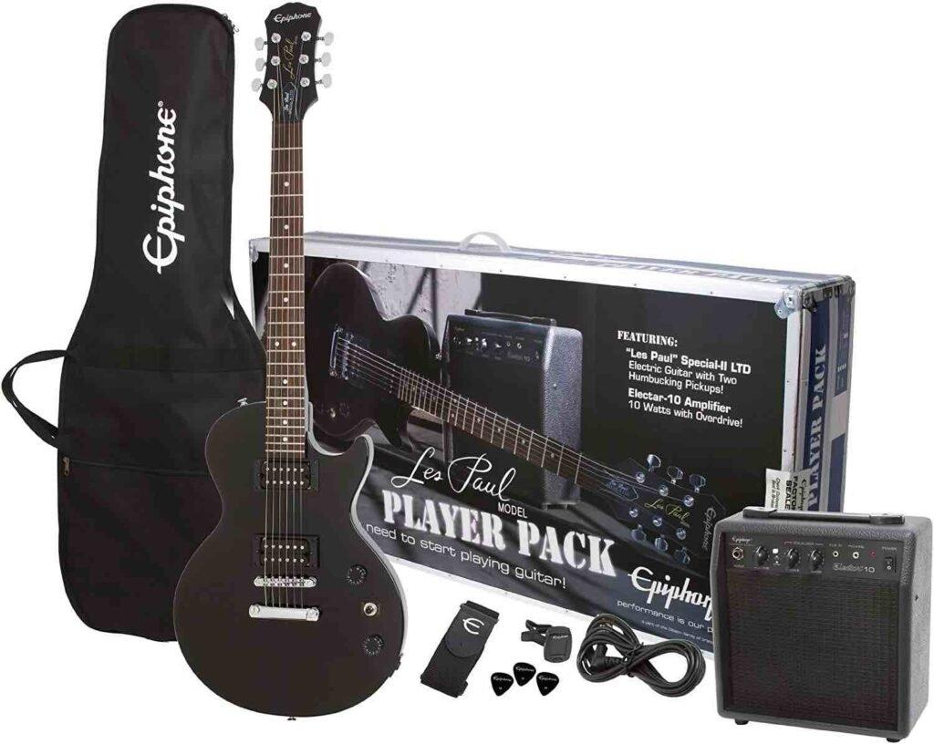 epiphone paquete guitarra electrica