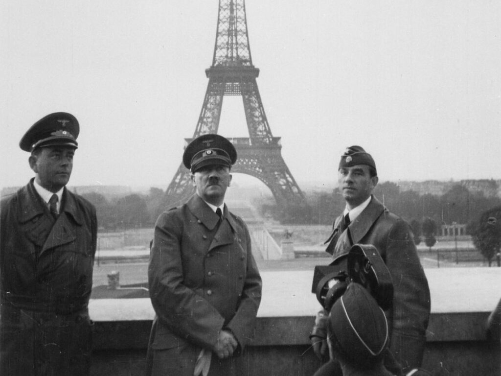 Holocausto, hitler en paris