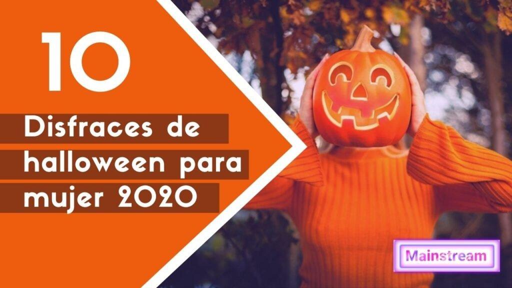 Disfraces de halloween para mujer 2020