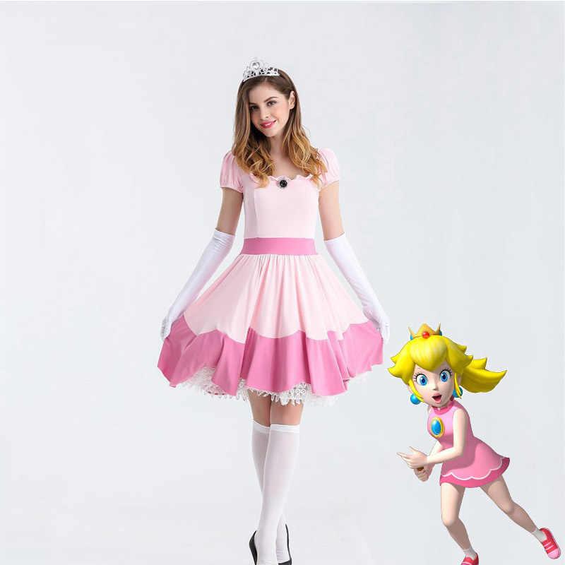 Disfraz de Peach (Mario Bros)