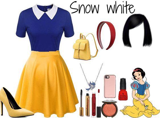 disfraz de halloween para mujer - blanca nieves