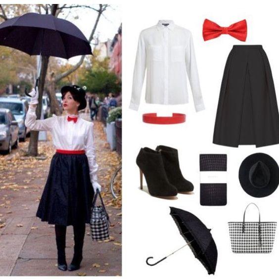 disfraz de halloween para mujer - Marry Poppins