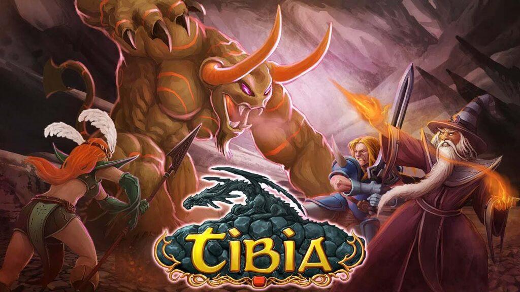 4. Juego para Pc Tibia RPG