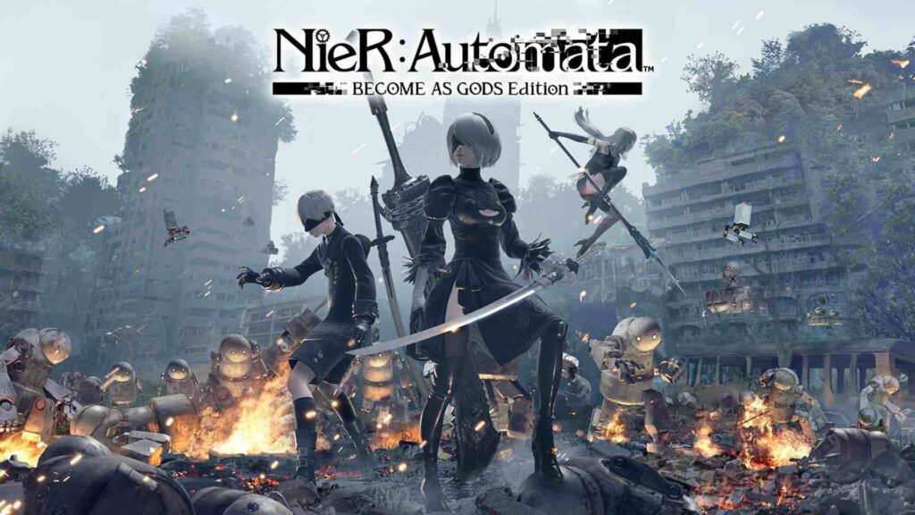 7. NieR: Automata BECOME AS GODS