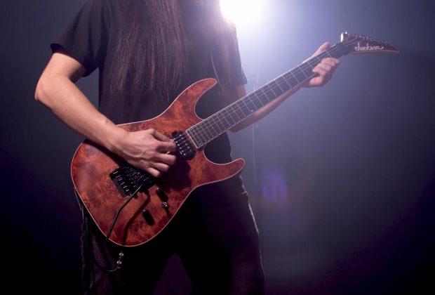 guitarra de metal